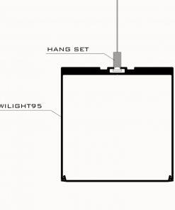 چراغ آویز خطی