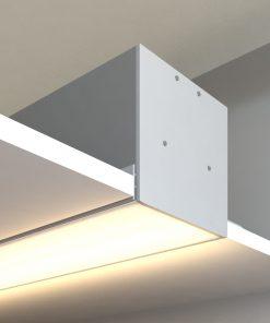 چراغ توکار اداری