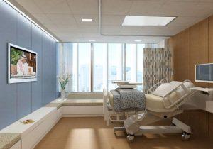 نورپردازی بیمارستان