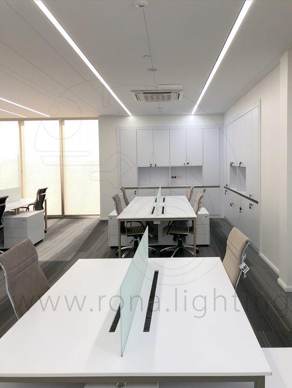 نورپردازی ساختمان اداری رونیکس