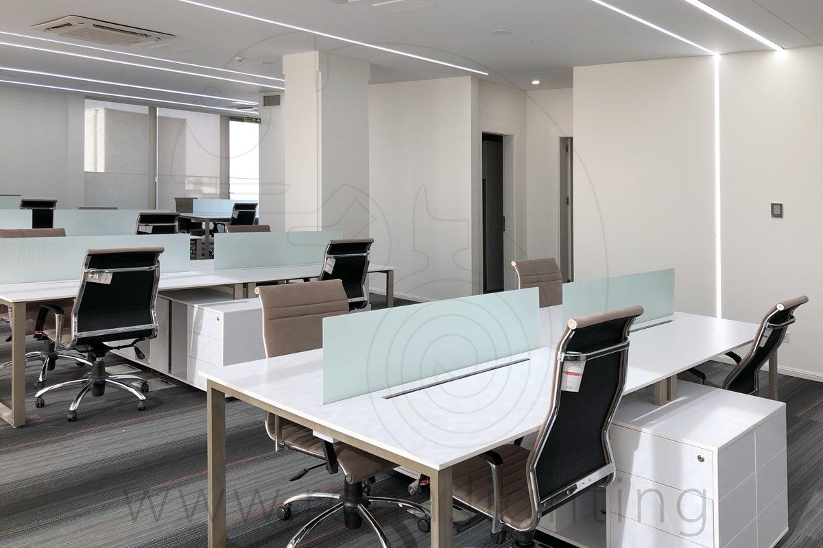 نورپردازی ساختمان اداری