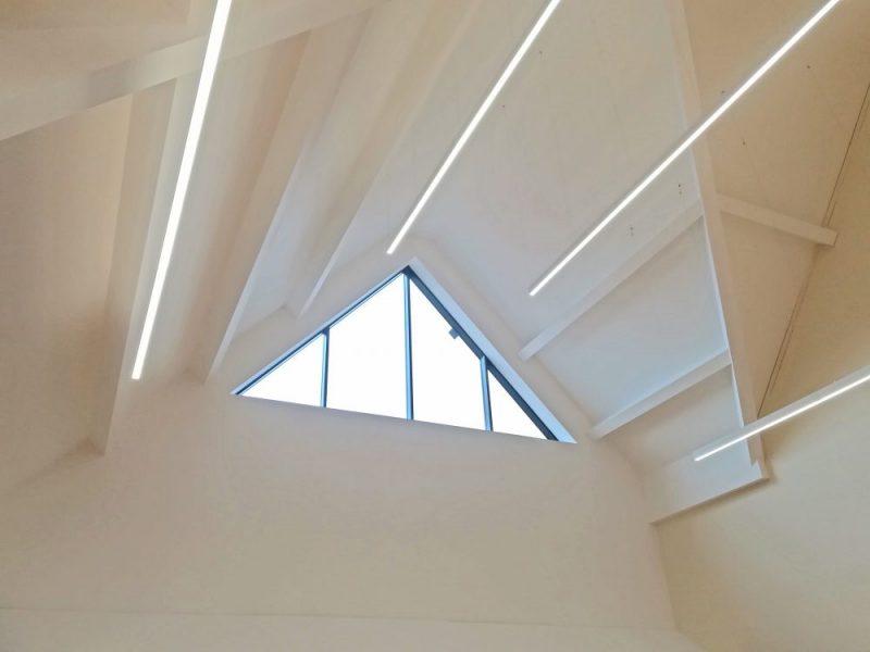 نور خطی یک محیط نور سالم ایجاد میکند