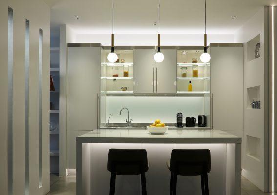 ایده استفاده از نور خطی برای فضای داخلی
