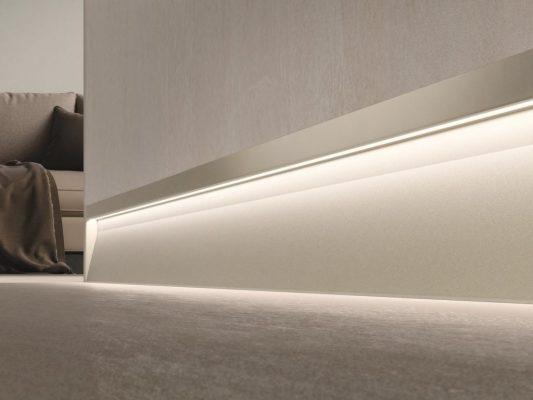 چراغ LED قرنیز دیوار